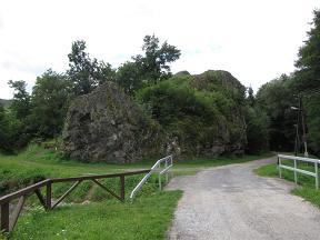 bózsva szikla